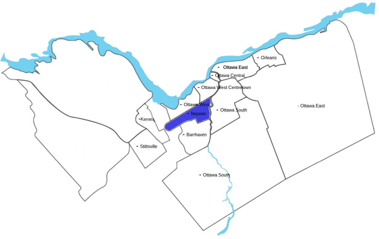 Nepean Map