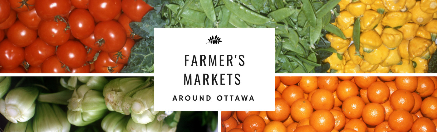 Ottawa Farmers Markets by Coldwell Banker first Ottawa Realty