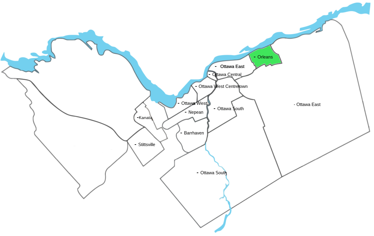 Orleans Map